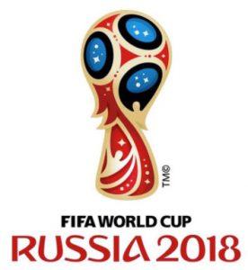 logo wk 2018 in Rusland