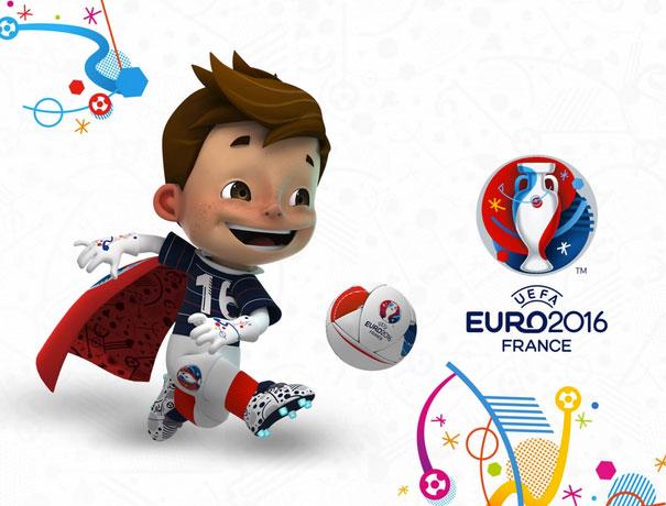 mascotte EK 2016