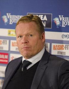 ronald koeman bondscoach nederlands elftal