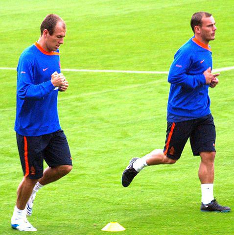 wesley sneijder meeste interlands / caps nederlands elftal